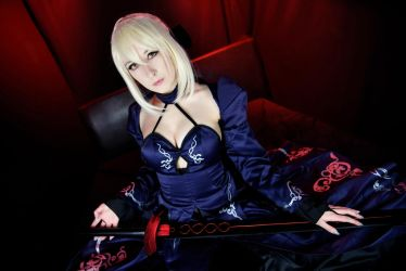 Saber Alter Cosplay by EroticNeko