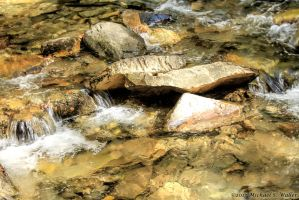 the synthetic awakening - Rocks In The Creek by thsyntheticawakening