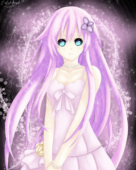 Hyperdimension: Purple Sister's Dress by ZalotAngel