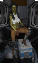 Captain Audraya Wesley by Scooternjng