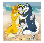Balito and Nipi by GamePonySly