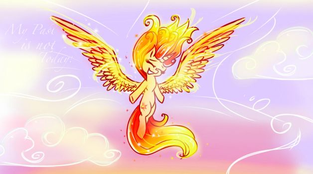 Like the Phoenix burning bright  by HiccupsDoesArt