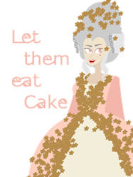 This Cake Tastes Like a Guillotine! by dirty-heaux