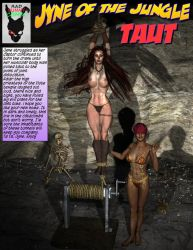 Jyne of the Jungle Taut by TheBadLieutenant