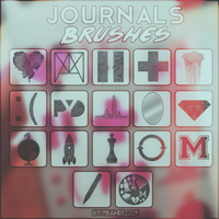 +Journals Brushes by yeahbizzle