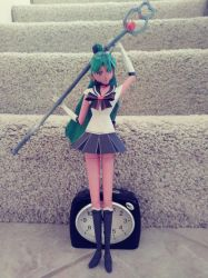 Sailor Pluto papercraft by Amber2002161