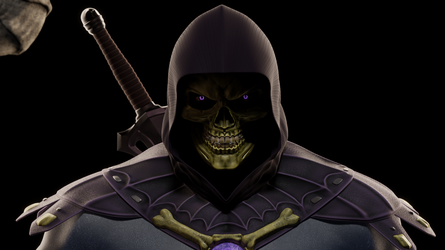 MOTU - Skeletor III - Close-up 4 by paulrich