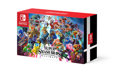 Smash Ultimate Bundle Box Art Back [FANMADE] by MamonStar761