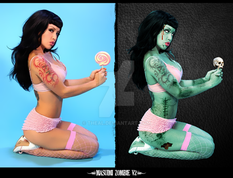 Masuimi Max Zombie v2 by TheAL
