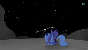 The Moon Is Boring by Gratlofatic