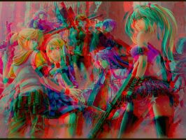 Image Relief 3D Anaglyph Rouge bleu by Fan2Relief3D
