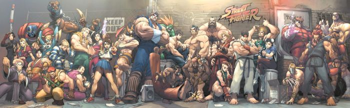 STREET FIGHTER - STREET JAM by alvinlee