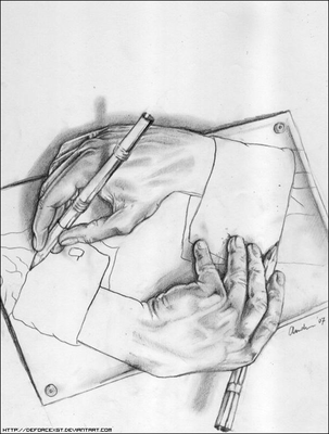 DrawingHands by DeForceXGT
