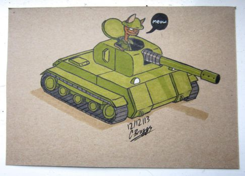 Cat in a Tank. by Prince-of-Pork-117