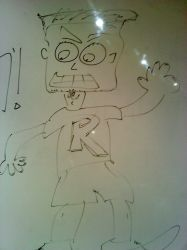 Me + Whiteboard = random by rith-sv