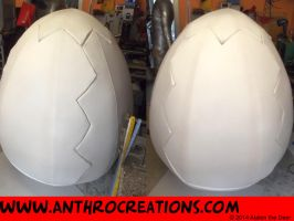 Big Egg Fin for Dragon and  Griffin Hatching by AtalontheDeer