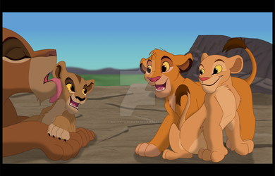 Zira, are you coming? by BullerThePirate