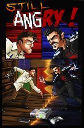 AVGN vs Angry Joe by MaroBot