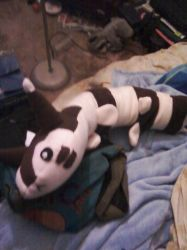 Furret Plushie 2 by Stacychan