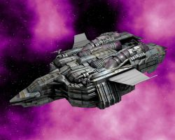 Gunship View 1 by Trekkie5000