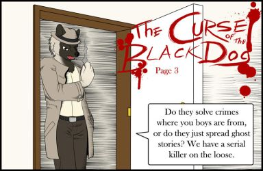 The Curse of the Black Dog: Page 3 by SonOfNothing