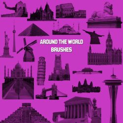 Around the World Brushes by kmh425