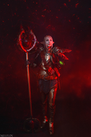 DA:I - Inquisitor Lavellan by MilliganVick