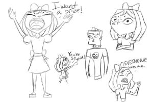 Little Courtney Doodles by DisneyWiz