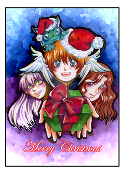 Original art - St. Prince - X'mas card design by digikolobong