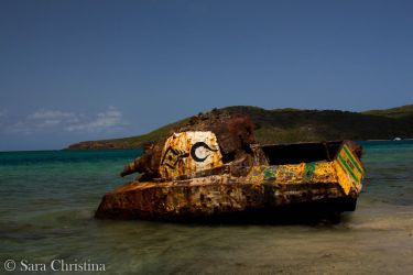 Culebra - Flamenco Beach 12 by AlessyaAtlantis