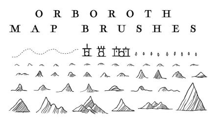 Orboroth Map Brushes v1 by Orboroth