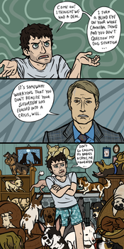 Hannibal: Intervention, sort of by sparkyHERO