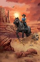 Legends of Oz: Wicked West issue 1B by JwichmanN