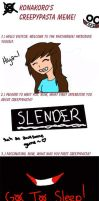 CreepyPasta Meme by Snowprincess-Lily