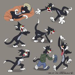 Tex Avery Studies:  The Cat Who Hated People by Totalmeep