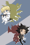DevilmanChibis by Kell0x
