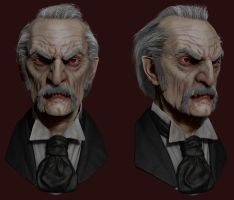 Dracula Sculpt colored by RedHeretic