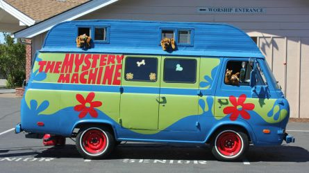 Mystery van by finhead4ever