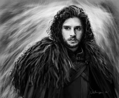 Jon Snow by RussianVal