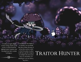 Hollow knight - Traitor Hunter by TinyTentacle