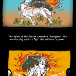 OKAMI Fancomic by torokun