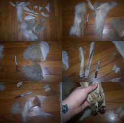 Coyote scrap pack for sale. PRICE DROP. by ShadiSin