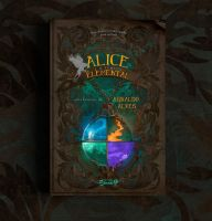 Book Cover - Alice e o templo elemental by MirellaSantana