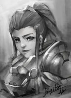 overwatch brigitte by tom23579