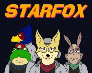 Star Fox SNES - AFiS Style by saxguygb