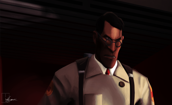 Go Tell The World I'm Alive [Medic, TF2] by Heliocathus