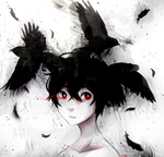 A Crow's Escape by pianorei
