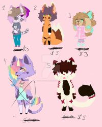 Adopts 1 sale 5 bucks now or offers and points by GalaxyRamune