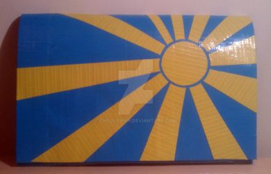 Sun is Shining Duct Tape Clutch by ChelliChan