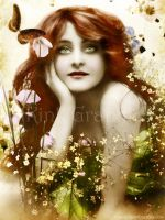 Vintage Butterfly by Toefje-Kunst